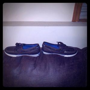 Boys Nautica boat shoes